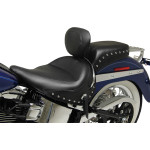 WIDE SOLO SEATS WITH REMOVABLE BACKREST AND REAR SEATS