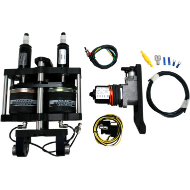 SHOCKS,AIR BLK 89-99FLST