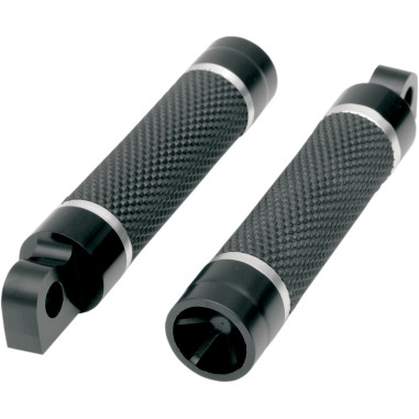 FOOTPEG SPOKE BLK