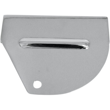 Chrome Rear Brake Light Switch Cover - Front