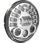 "7"" PEDESTAL MOUNT LED HEADLIGHTS"