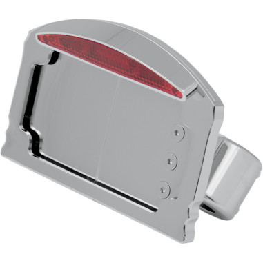 Side Mount Led Taillight/License Plate Mounts - Front