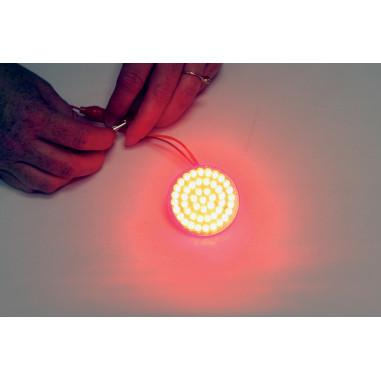 BULB LED RED 1156