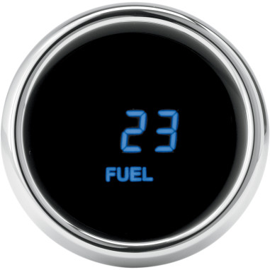 GAUGE FUEL FLHT 96 BLUE