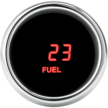 GAUGE FUEL FLHT 96 RED