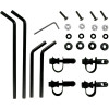 REPLACEMENT MOUNTING HARDWARE FOR MOOSE FULL FOLDING WINDSHIELDS