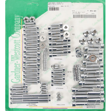 BOLTS MOTOR SET FXD 07-16