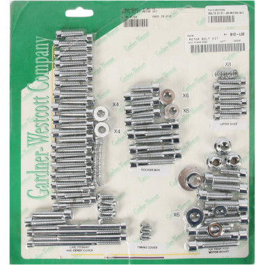 BOLTS MOTOR SET ST 07-16