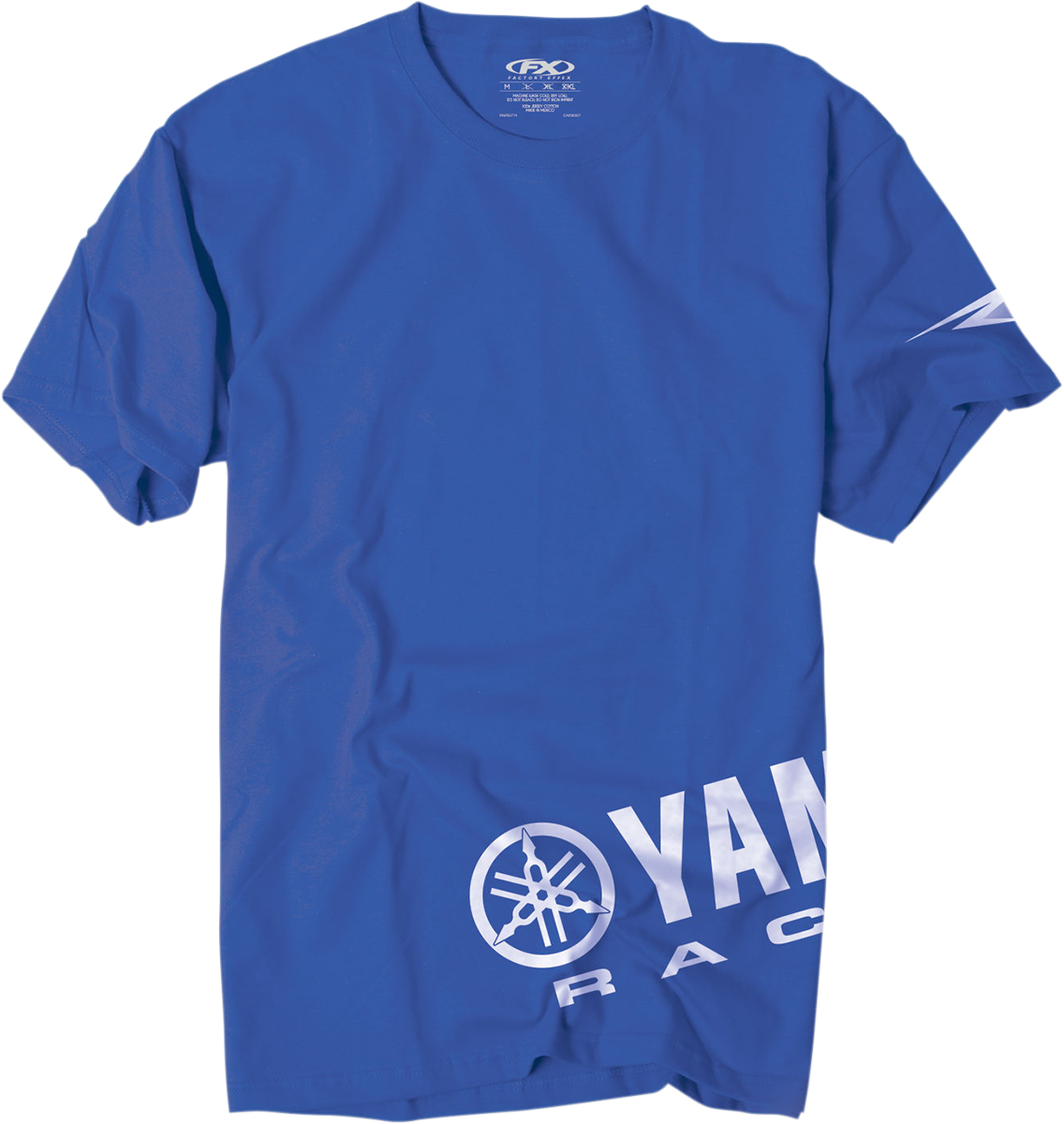 Tee yamaha wrap blue 2x products drag specialties for Graphic edge t shirt design