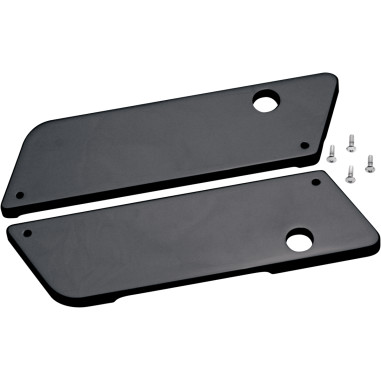 LATCH COVER SMOOTH BLACK