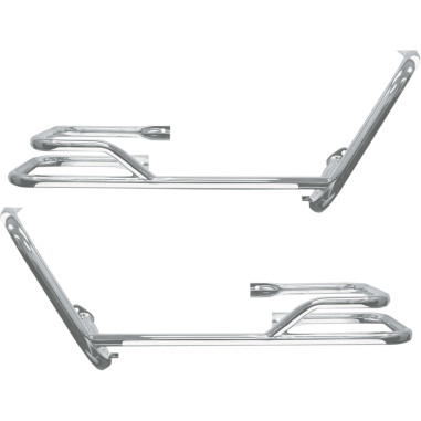 BUFFALO SADDLEBAG BARS WITH GUARDS