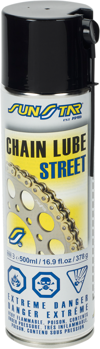 STREET CHAIN LUBE 500ML   Products   Drag Specialties®