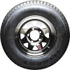 "13"" RADIAL SPARE TIRE AND WHEEL"