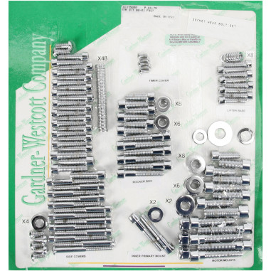 MOTOR BOLT SET 00-06 ST