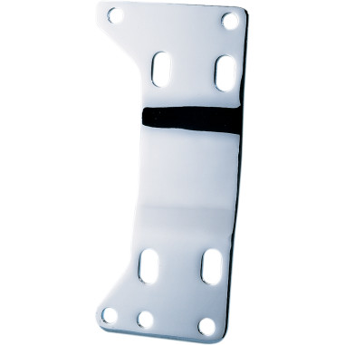 CHROME TRANSMISSION MOUNTING PLATE