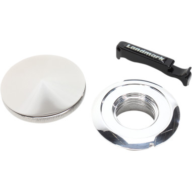 PAINT PROTECTOR WITH BUILT-IN STAINLESS GAS CAP