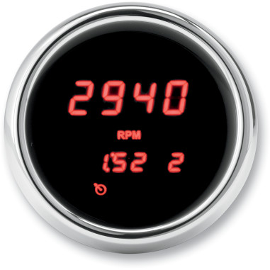 TACH 04-13 FLHT RED