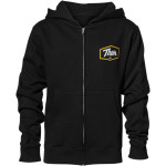 YOUTH SCRIPT ZIP-UP HOODY