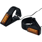 RECTANGLE LED FORK MOUNT TURN SIGNALS