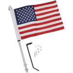 "12"" POLE WITH FLAG"