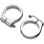 Fork tube clamps