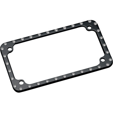 FRAME LICENSE PLATE BLACK