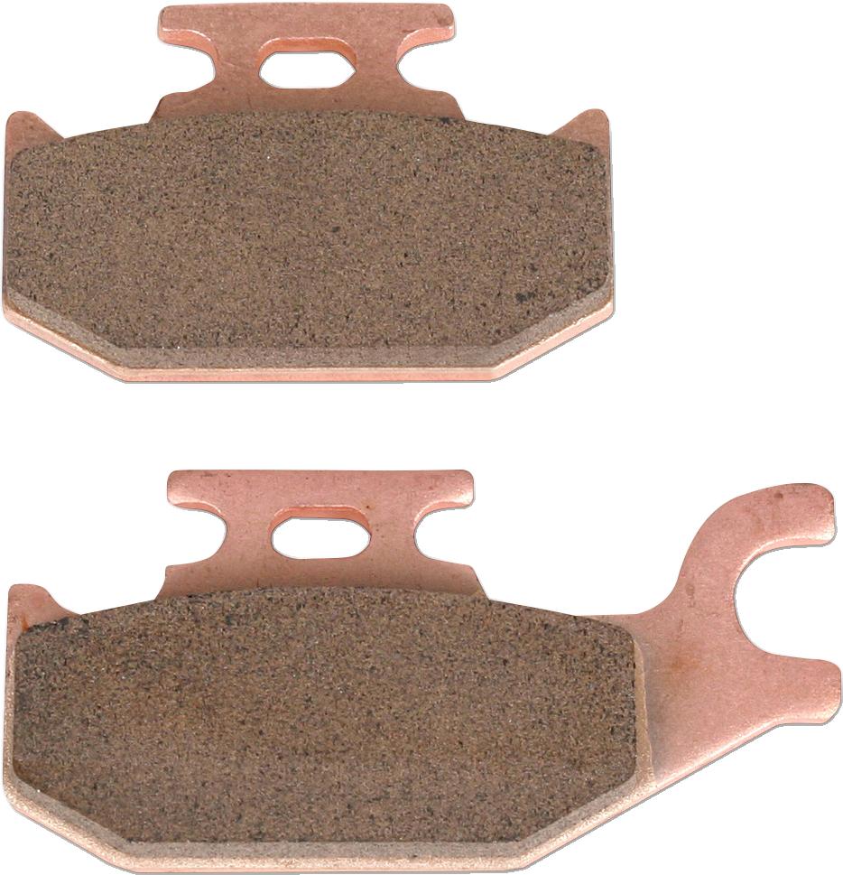 2007-2012 CAN AM Outlander 650 4x4 STD Sintered HH Front /& Rear Brake Pads