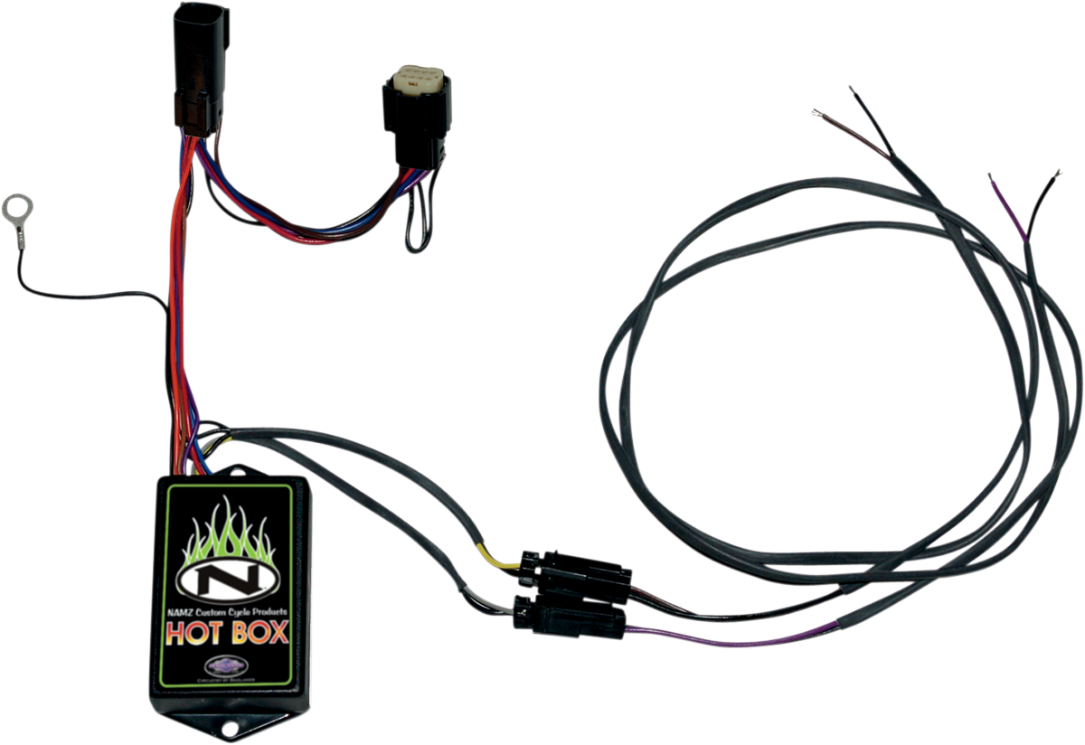 hot box wiring harnesses products drag specialties rh dragspecialties com Automotive Wiring Diagrams Custom Wiring