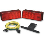 "WATERPROOF LED OVER 80"" LOW PROFILE TAILLIGHT KIT"
