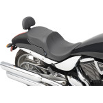 LOW-PROFILE TOURING SEATS WITH PASSENGER BACKREST