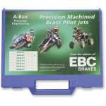 A-BAX ENGINEERING PILOT JET ASSORTMENT FOR KEIHIN CV CARBURETORS