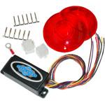 Plug-in illuminators with Chris lenses