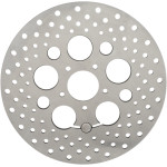 STAINLESS STEEL DRILLED BRAKE ROTORS