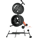 KINGPIN WHEEL/TIRE CARRIER