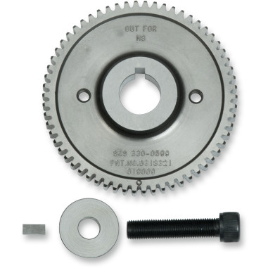 TWO-GEAR SET FOR GEAR-DRIVEN CAMS