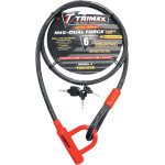 TRIMAFLEX<tm> COILED CABLE LOCKS