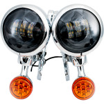 """4.5"""" LED AUXILIARY LIGHTS WITH TURN SIGNALS"""