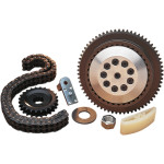 PRIMARY CHAIN DRIVE SYSTEM WITH CLUTCH