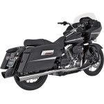 ROUND SLIP-ON MUFFLERS FOR TOURING SECTION