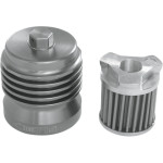 "FLO STAINLESS STEEL, REUSABLE ""SPIN-ON"" OIL FILTER"