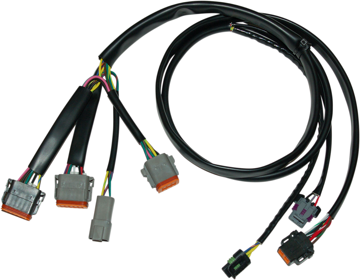 drag specialties wiring harness wire center u2022 rh cinemavf co Automotive Wiring Diagrams Custom Wiring