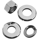 REAR AXLE NUT AND WASHER KIT
