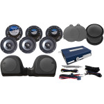 AMP/SIX SPEAKER KIT FOR 14-18 TWIN-COOLED™ MODELS