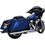 "PYTHON<r> 3 1/2"" SLIP-ON MUFFLERS FOR TOURING SECTION"