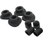 VALVE STEM GROMMETS AND CAPS