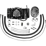 LOW-MOUNT FAN-ASSISTED OIL COOLER KITS