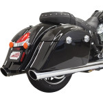 "4"" PERFORMANCE SLIP-ON MUFFLERS FOR INDIAN"