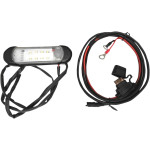 12V LED dome light w/wire harness