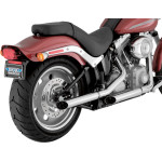 "2 1/2"" SLASH-CUT SLIP-ON MUFFLERS FOR SOFTAIL"