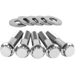 12-POINT, SOCKET HEAD AND OEM-STYLE POLISHED STAINLESS INDIVIDUAL BRAKE AND PULLEY BOLT KITS